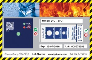 TRACE-R Temperature Monitor
